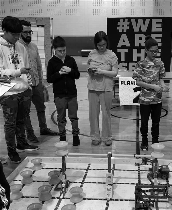 SBJC Students Take 4th in South Bergen Robotics Competition
