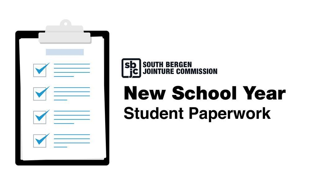 New School Year Paperwork